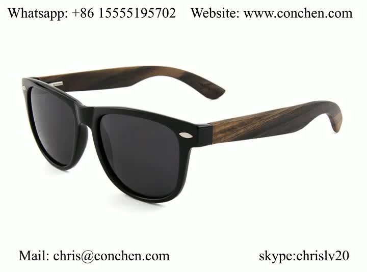 1ff8c0d161 Hot 2018 new products glasses PC frame spring hinge wooden polarized  sunglasses for China
