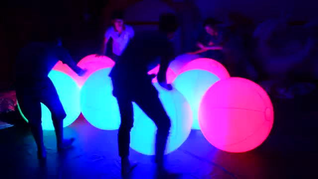 Touch LED Balll Inflatable Throw Zygote Inflatable LED Balloon