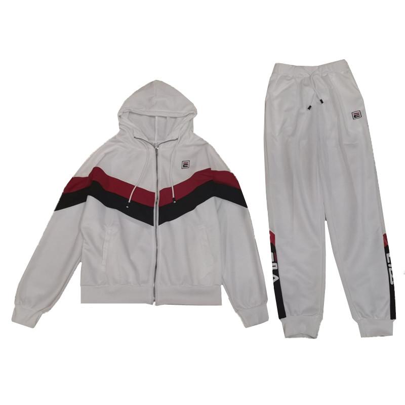 欧洲站卫衣运动服套装女春秋装2020新款时尚洋气休闲两件套欧货潮