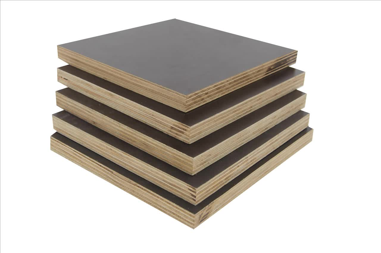 Guangzhou Supplier Exterior Plywood Siding Film Faced