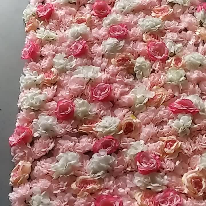 Wholesale Roll Up Flower Wall Stand Backdrop Wedding Decoration