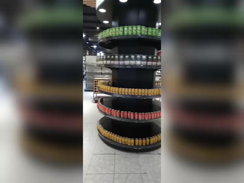 supermarket grocery concept store equipment pet shop 3D design