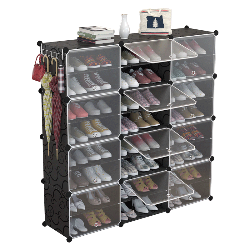 简易防尘鞋架收纳组装家用经济型省空间宿舍鞋柜简约现代门厅柜
