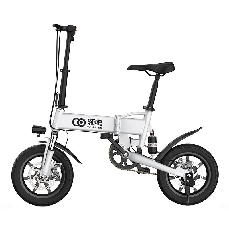 领奥新国标折叠锂电池超轻便单车