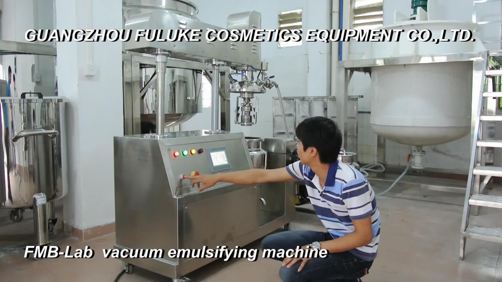 500L industries โยเกิร์ตชีสทำเครื่องสูญญากาศ emulsifying เครื่อง