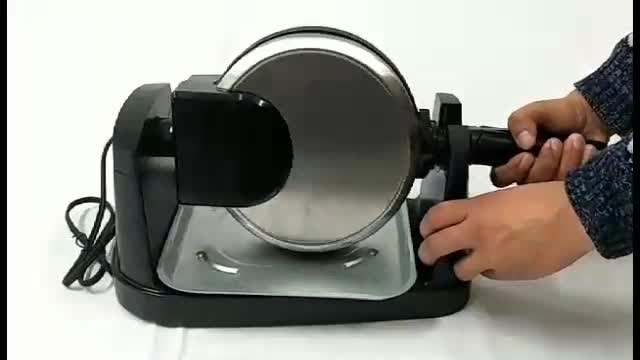 Commercial Stainless Steel Rotary Waffle Maker
