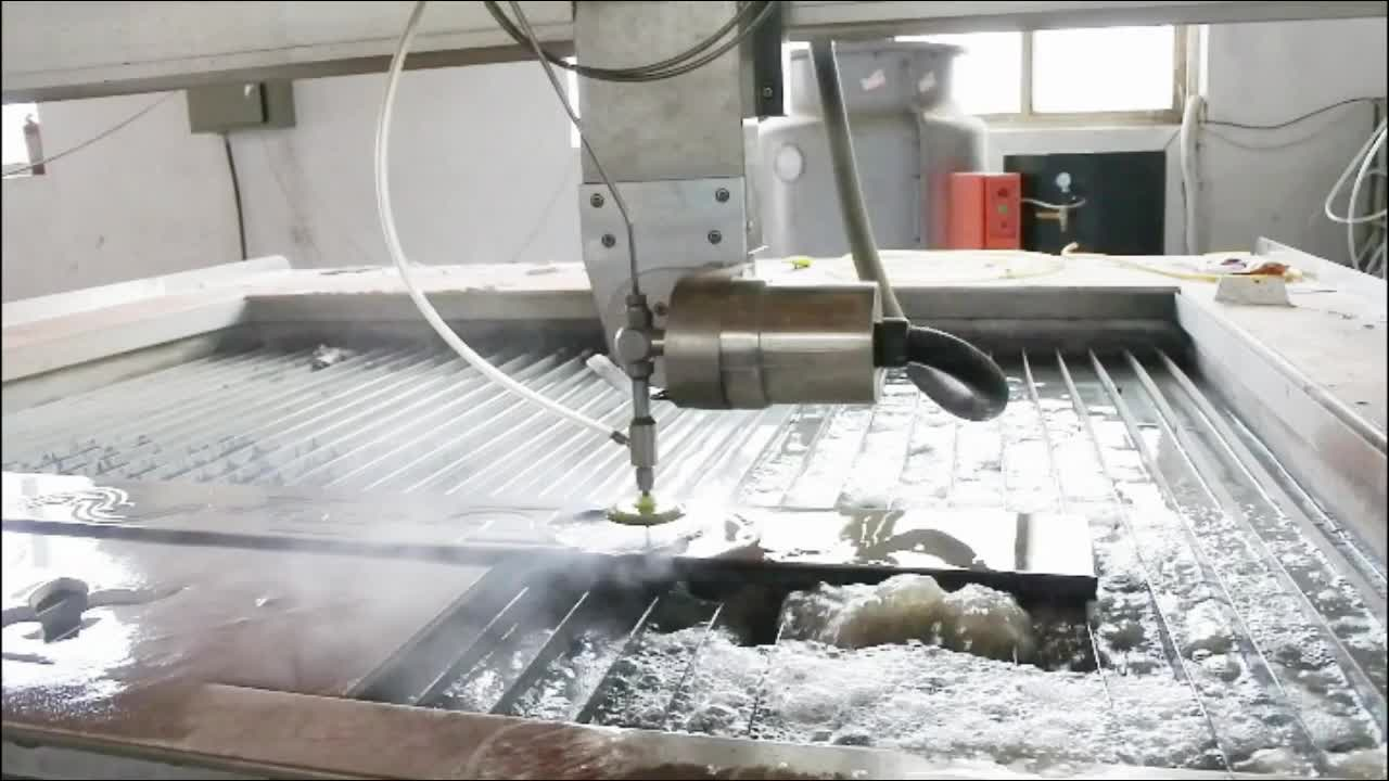 2019 New Model 5 Axis Metal Water Jet Cutting Machine