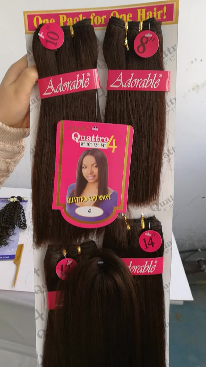 Hot sale adorable top quality synthetic hair extensionstraight hot sale adorable top quality synthetic hair extensionstraight yaki weave 4pcslot has pmusecretfo Choice Image