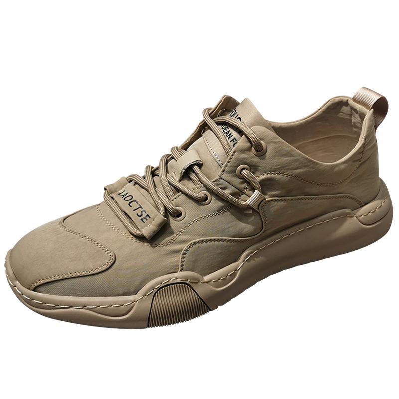 运动帆布鞋子春季男士潮流百搭男鞋用后反馈