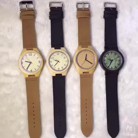 OEM hot sale high quality wood watches,free watch samples,tense wood watches quartz watches of men
