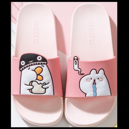 2019新款夏季情侣女夏家用男凉拖鞋