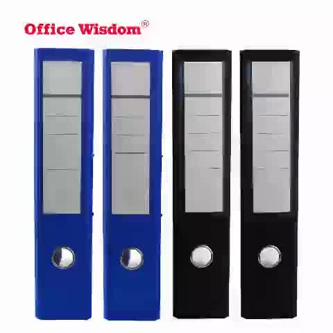 """office wisdom 2 rings lever & lever arch file binder A4 3"""" lever arch file PP filling folder 2 hole d-ring ring binder"""
