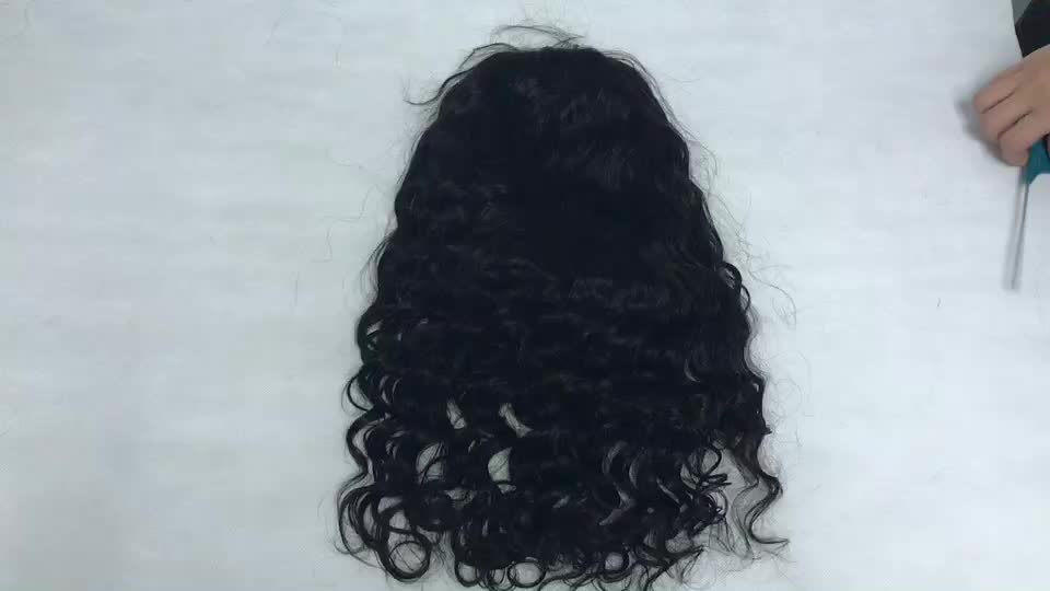 High Quality Loose Wave Natural Hairline Black Human Lace Front Wig Bleach Knot Peruvian Cheap Cuticle Aligned For Black Women