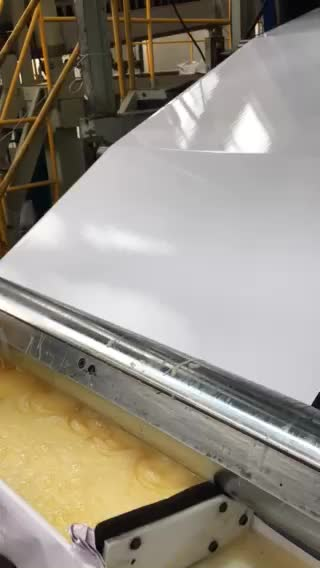 Plastic Manufacturer PVC White Glossy Sheet High Shine PVC Glossy Board