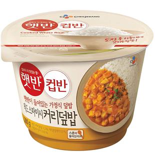 韩国希自热米饭午餐食品香辣咖喱饭280g