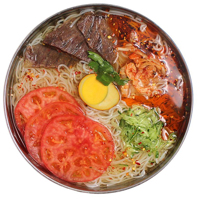 5袋装朝鲜冷面 正宗东北大妈韩式风味凉面烤冷面延吉特产速食小吃