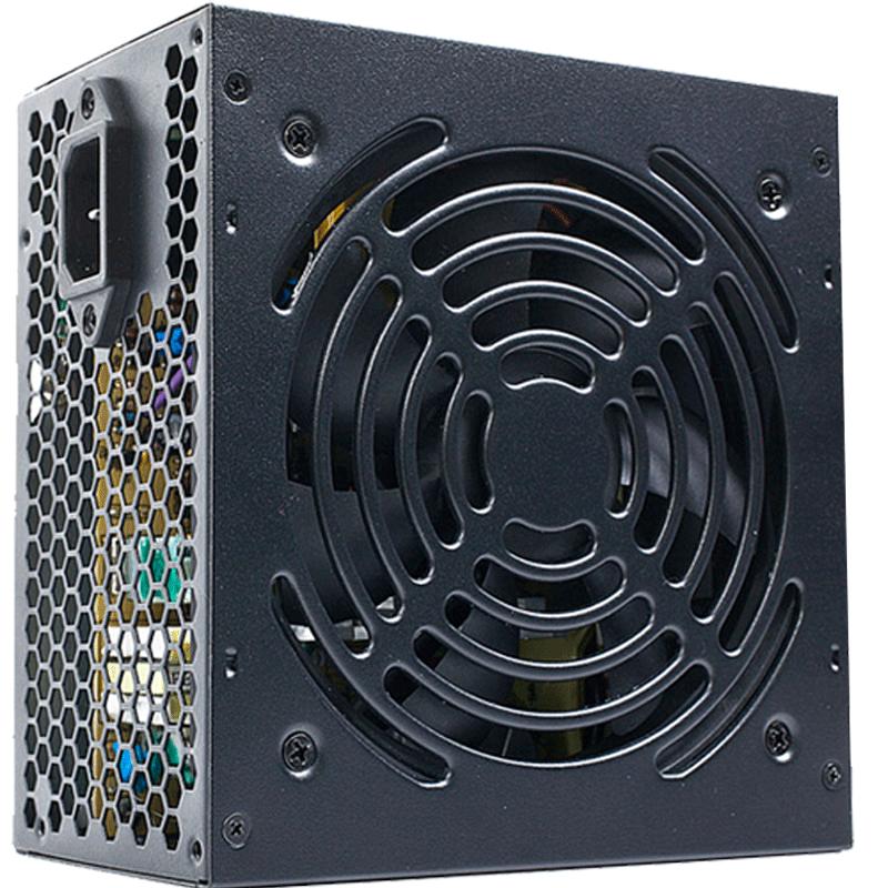 鑫谷巡洋舰C5静音电脑电源台式机主机atx主动式背线额定300W供电