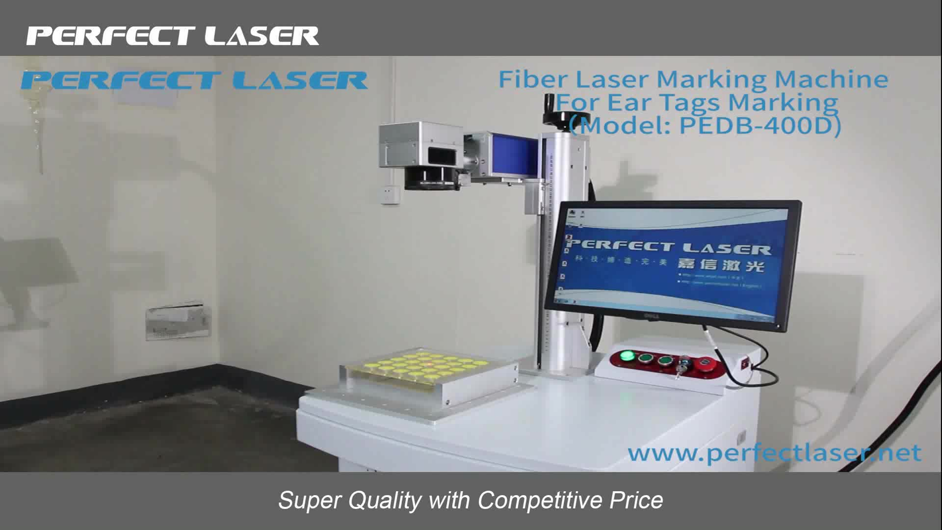 8 Stations Ccd Galvo Laser Engraving Machine For Metal