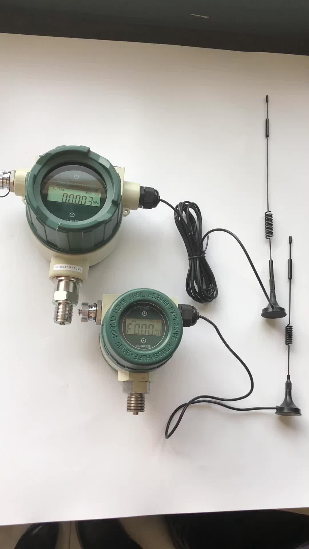 Беспроводной GSM датчик давления воды с низкой высокой сигнализацией