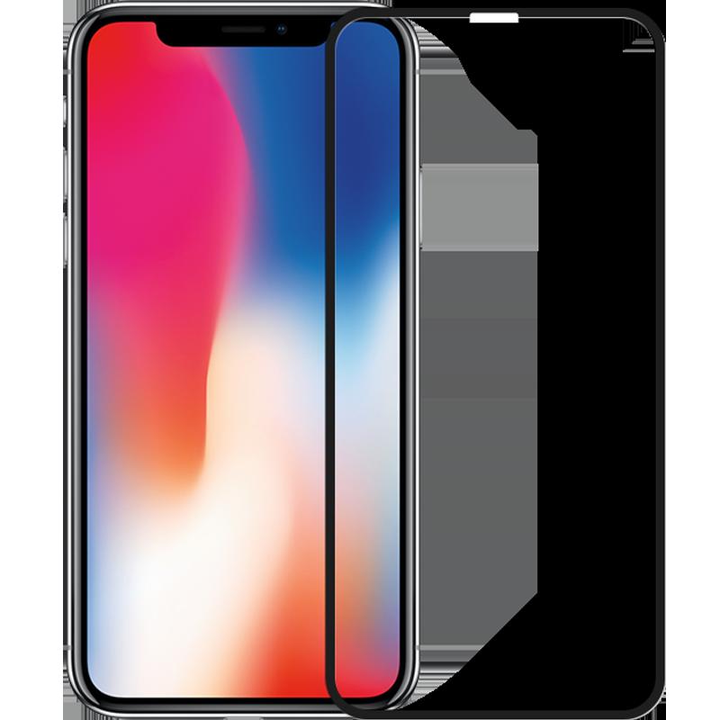 iPhoneX钢化膜苹果X手机6D全屏覆盖8x蓝光水凝膜iPhonex膜防偷窥