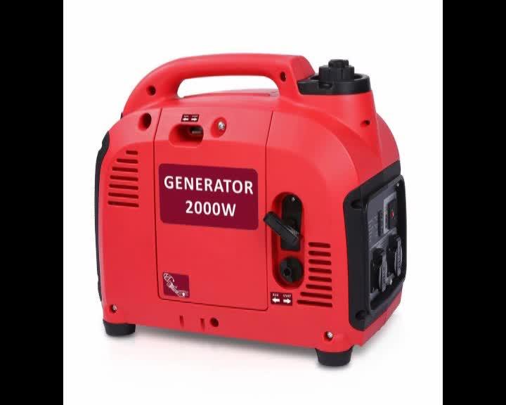 110v 230v 12V 2.0 KW Competitive Price Portable camping gasoline Generator