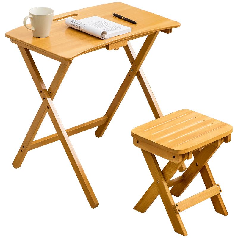 木马人书桌椅子可折叠小学生学习桌质量可靠吗