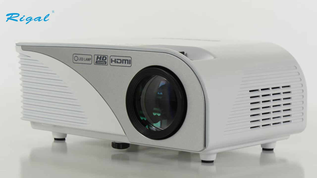 Lowest price mini home theater projector hd led smart for Mini projector price