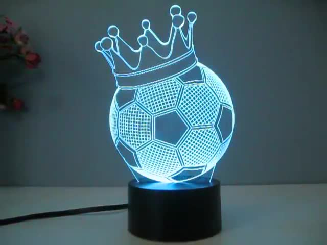 3d Led Custom Made Lamp Colorful Nightlight Decoration