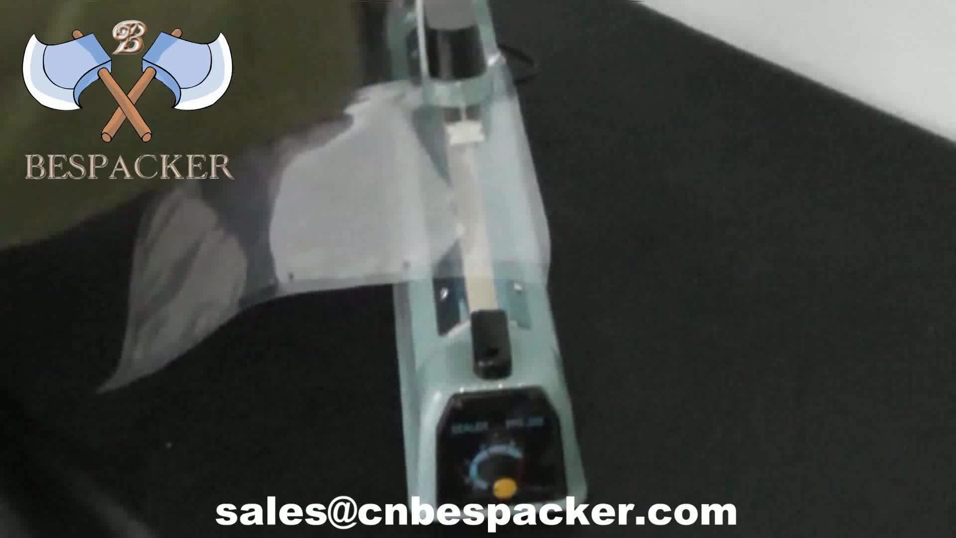 Bespacker PFS-100 plastic body manual hand held impulse sealer sealing machine