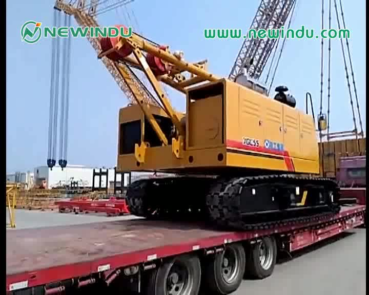 Truck-mounted crane SPS50000 Sanyi telescopic 20 tons truck-mounted crane price