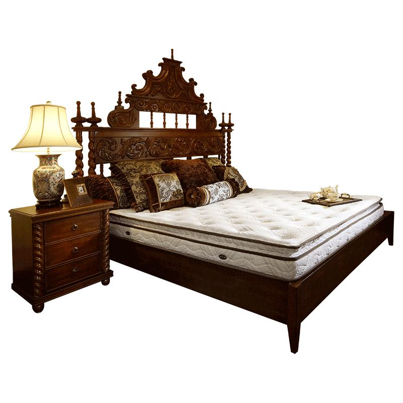 雅兰宫殿五区护脊奢华双人席梦思质量好不好