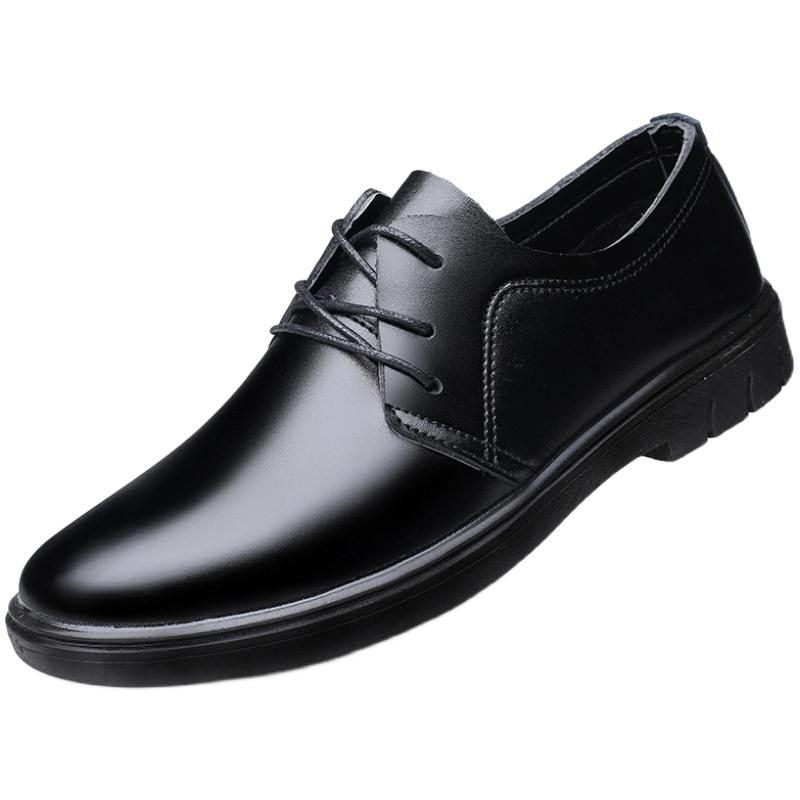 商务正装小皮鞋英伦韩版潮男鞋子质量好不好