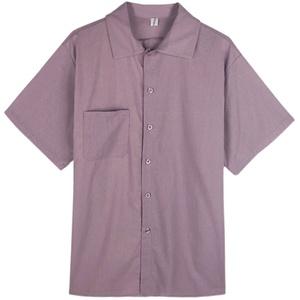 港风短袖防晒少女设计感外穿衬衫