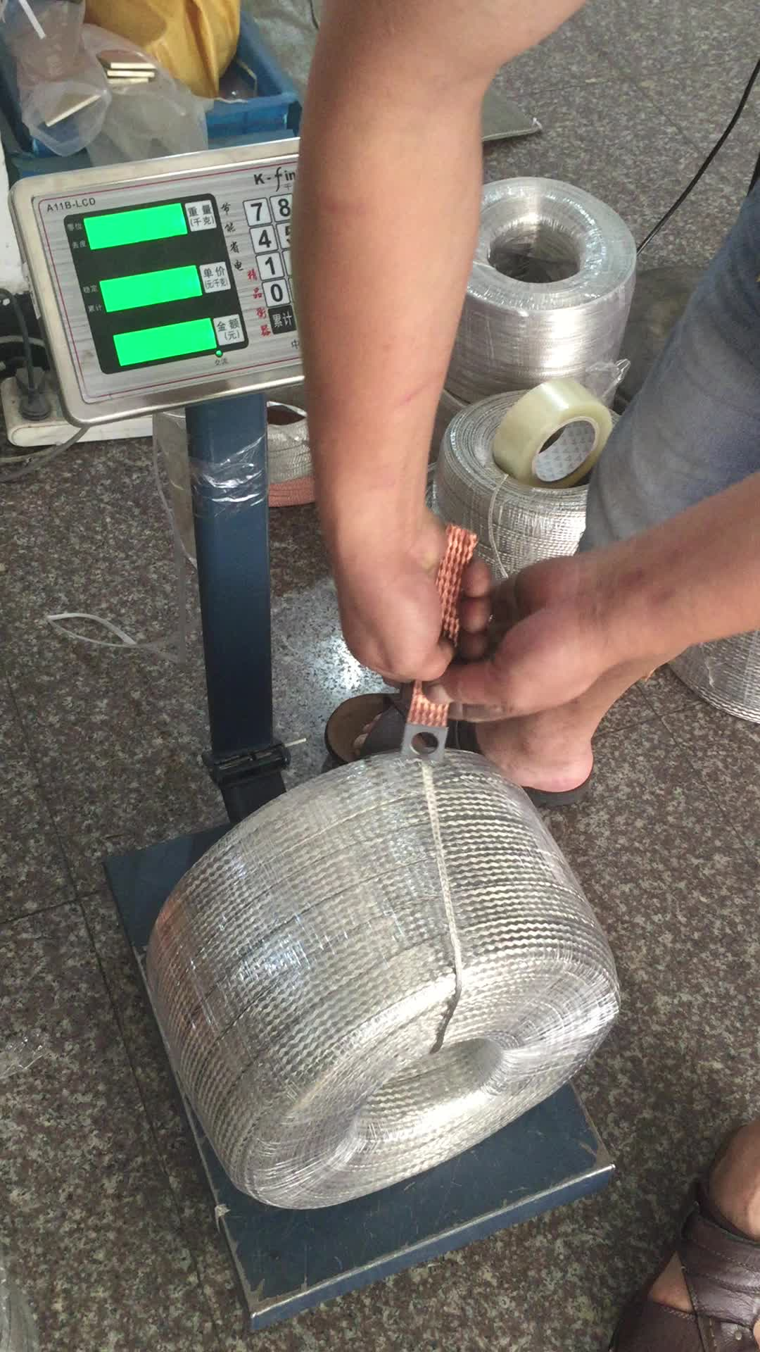 Flache Kupfergeflecht Flexible 16mm Erdung Draht Jumper Draht - Buy ...