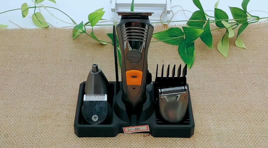 Hoge Kwaliteit Mens Grooming Kit Oplaadbare Turbo Functie Baard Clipper Trimmer