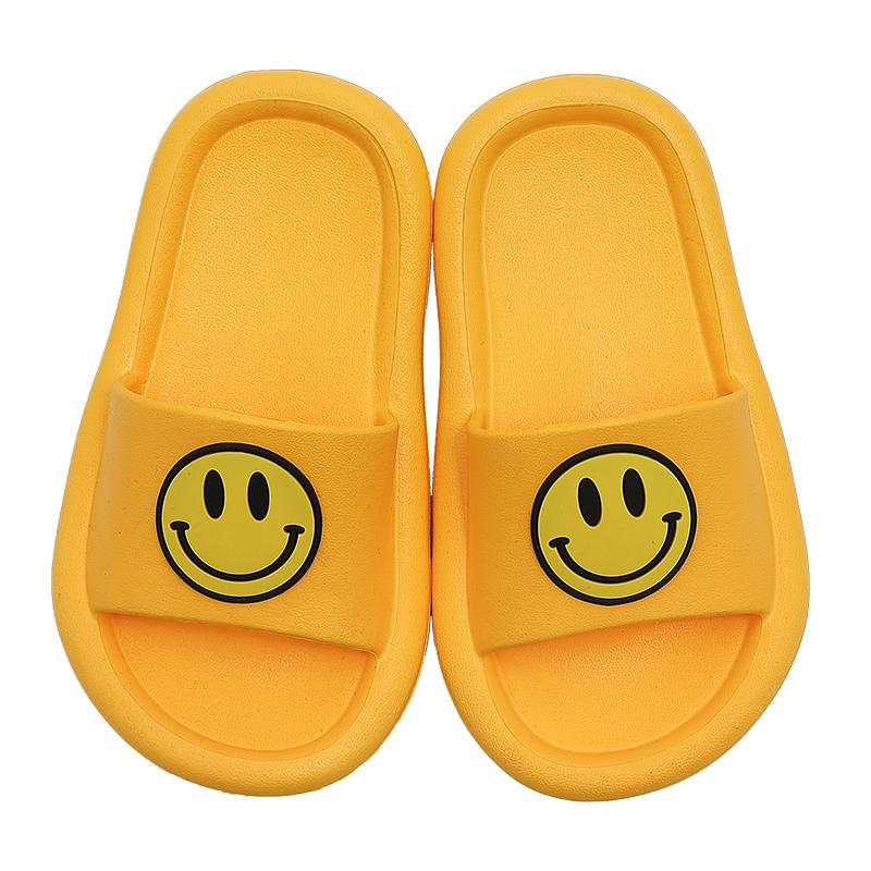 儿童家居可爱小朋友笑脸小孩拖鞋评价好不好