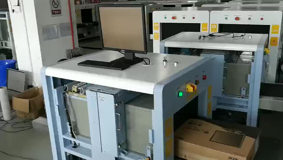 High Conveyor Speed X-Ray Examination System for airport, railway station