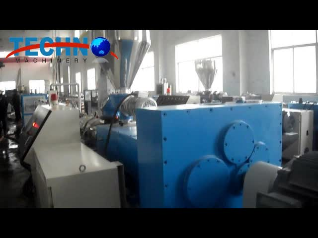 2019 New Products High Automation Hot Sale Extrusion Machine Pvc Pipe Machine