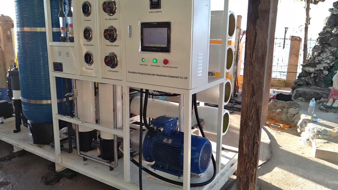 1000L/D Kleine Draagbare Mobiele ontzilting plant ro machine omgekeerde osmose zeewater behandeling apparatuur voor thuis boot