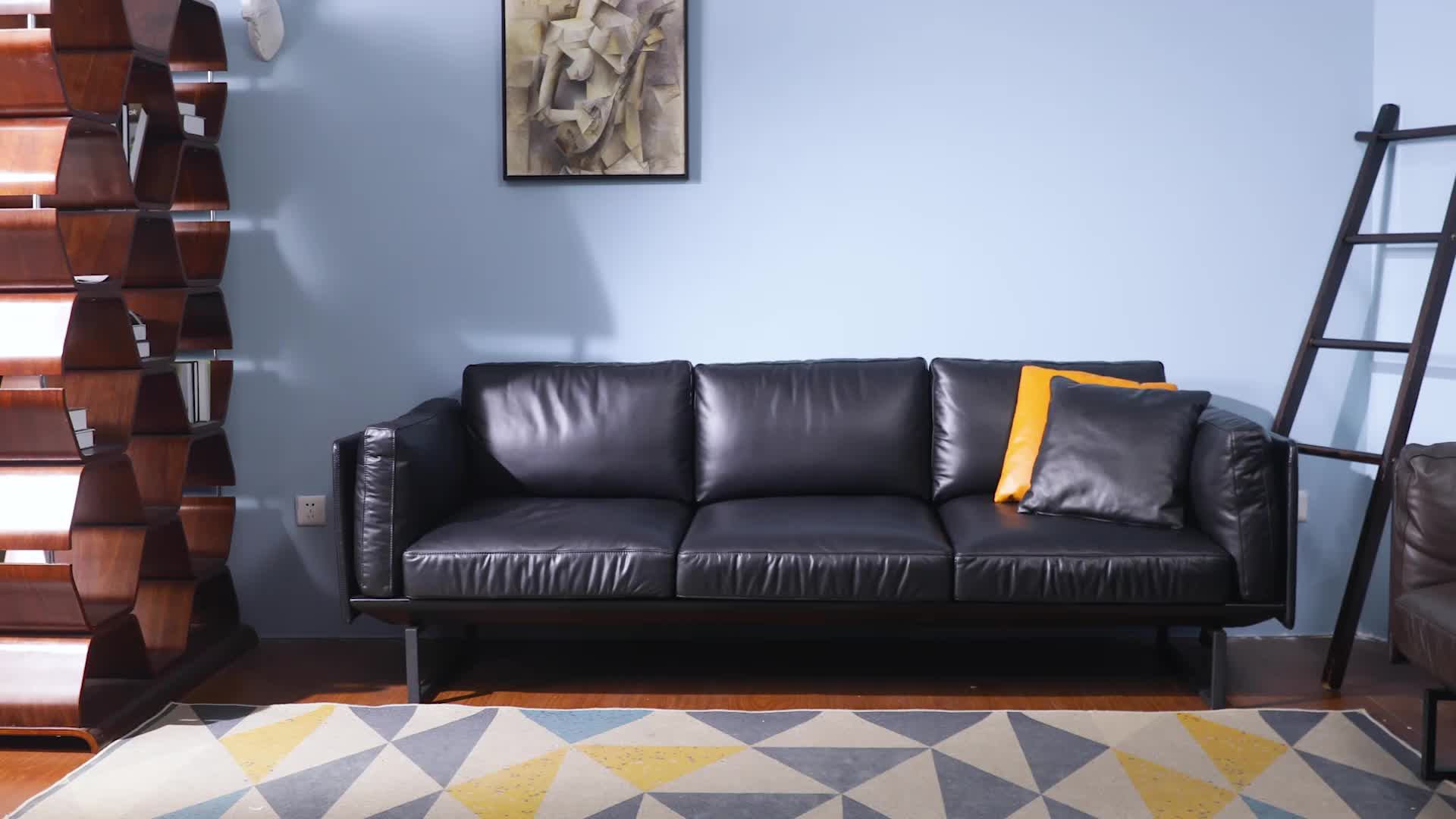 Modern Simple Leather Sofa Set Design Furniture In Philippines See Photo