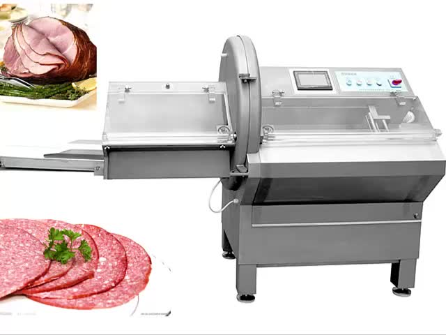 Meat processing machine automatic frozen meat slicer for sale