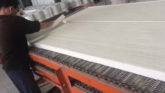 heat resistant materials 1260 50MM ceramic fiber blanket