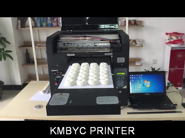 a3 size 6 color flatbed food cake macaroon printer
