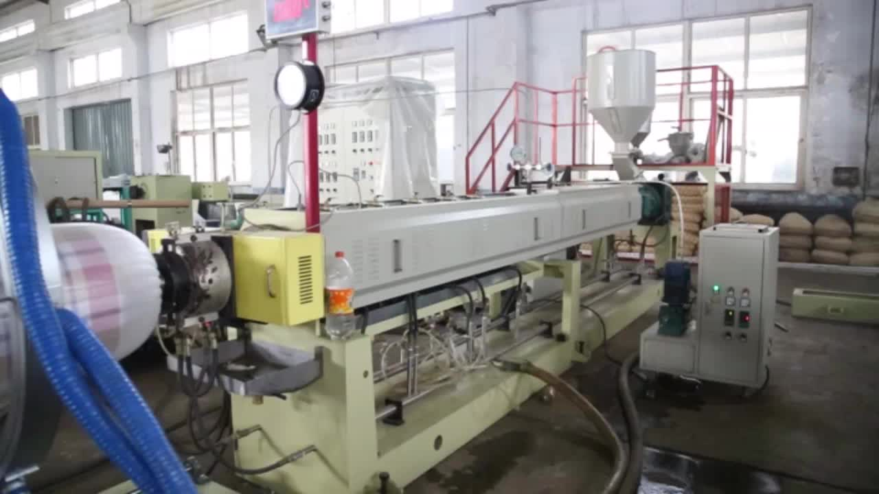 Epe uitbreidbaar foam en film extrusie making machine