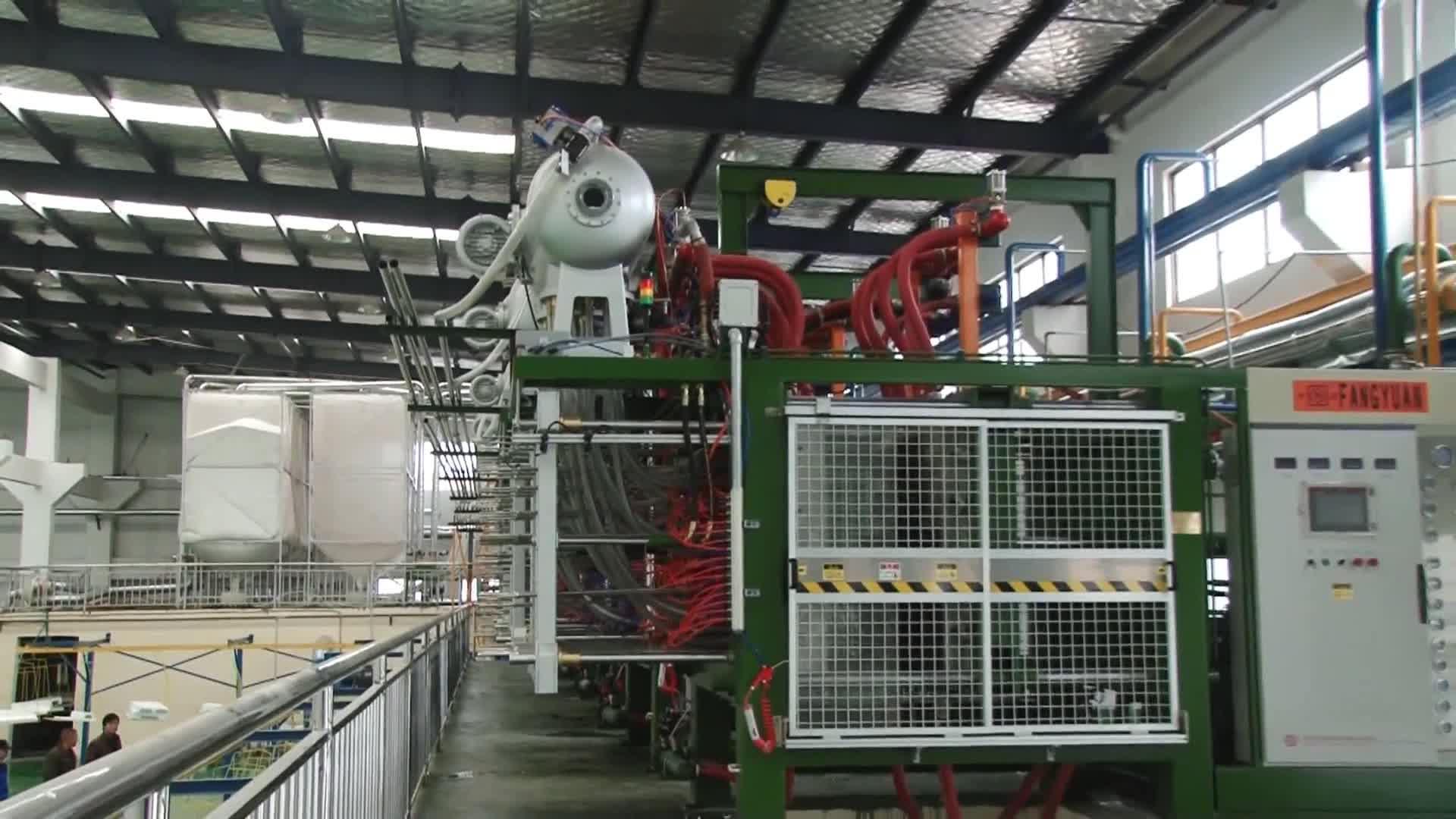 Hangzhou Fangyuan automatique polystyrène expansé eps mousse moule machine de styromousse d'eps machine de moulage de forme avec DU CE