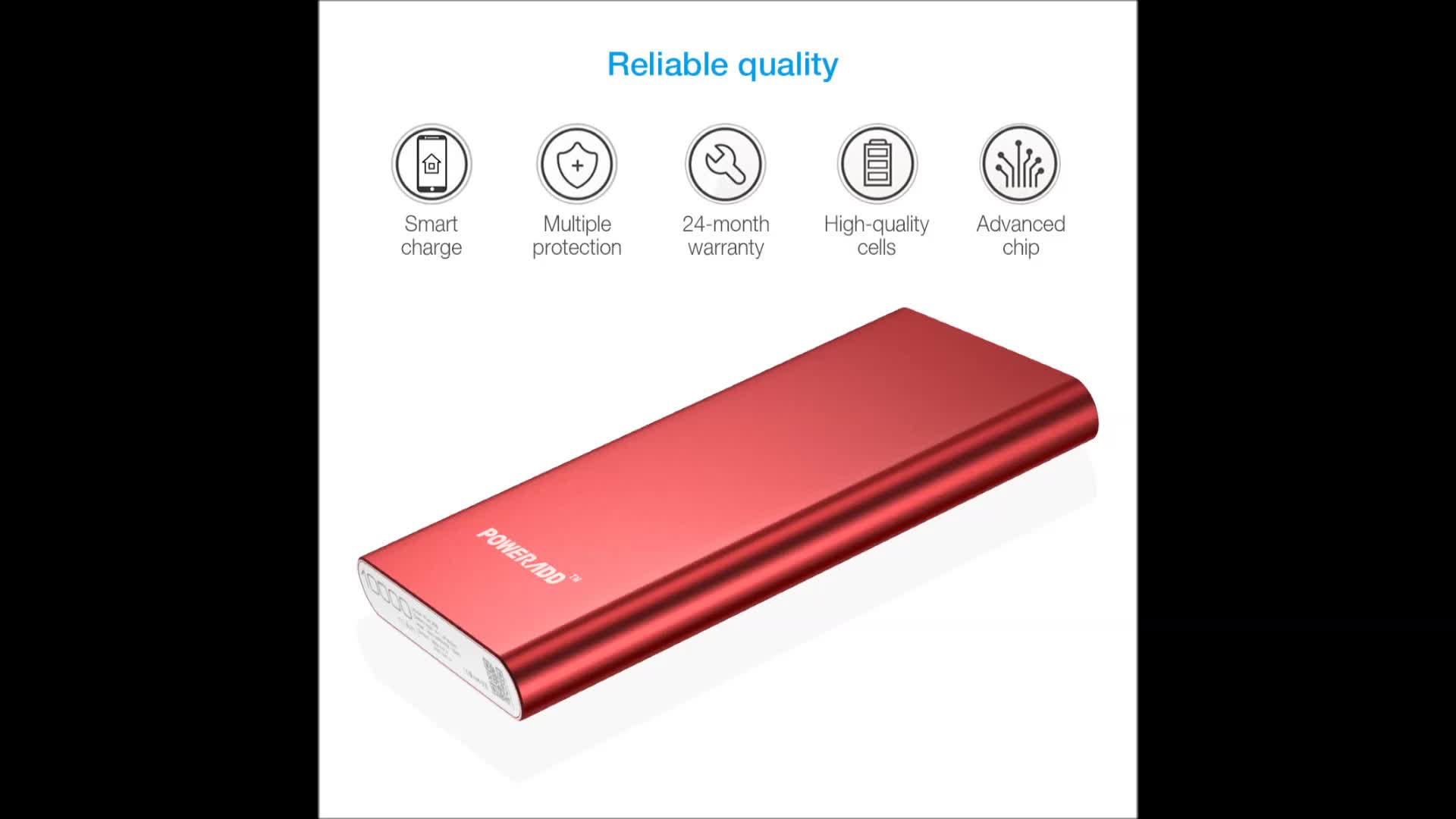 Electronics Portable Power Bank 10000mah Dual Port Power Bank Charger