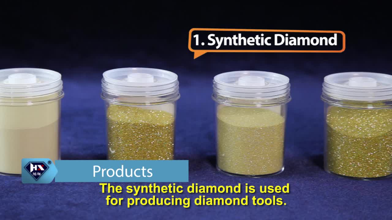 manufacture synthetic diamond raw material for polishing