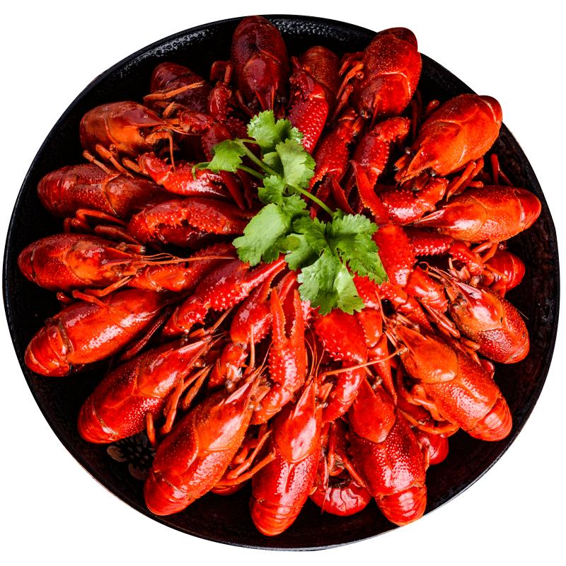 第二份1元!网红麻辣小龙虾十三香即食虾尾香辣油焖大虾3.6斤鲜活