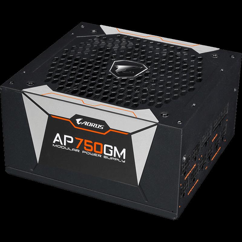 技嘉 AORUS P750W 台式机电脑机箱电源  全模组静音金牌电源