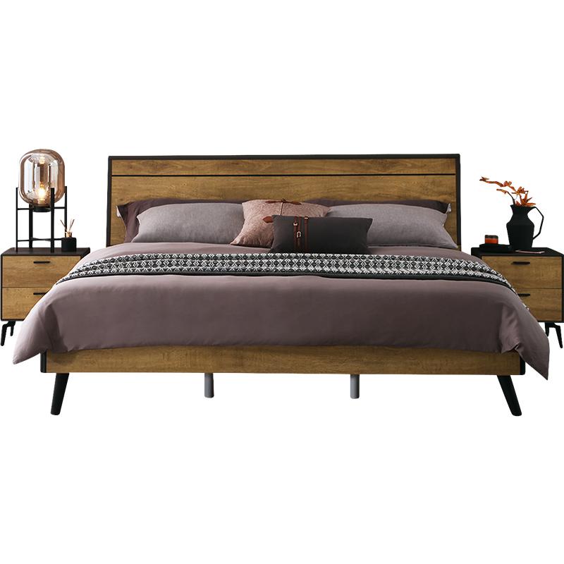 全友家居卧室1.5米1.8双人单人床好用吗